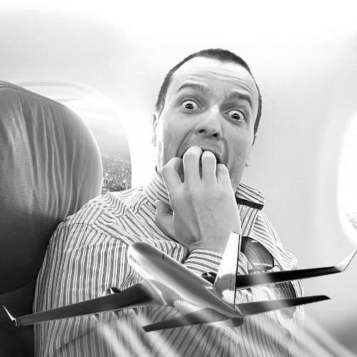 Аэрофобия - боязнь летать на самолете